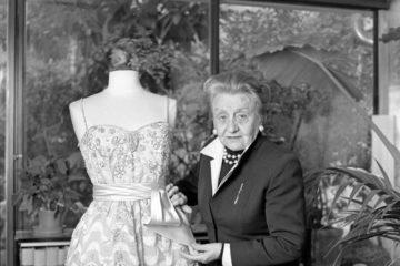 Micol Fontana, la sarta delle dive della 'Dolce Vita'